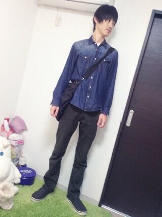 鈴川絢子さんの「hover slip on leather(crocs|クロックス)」を使ったコーディネート