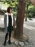 「FOREVER 21 Classic Fit & Flare Dress(Forever 21)」 using this まりさま looks