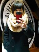tamukoさんの「KBF BIGリブスヌード(KBF|ケイビーエフ)」を使ったコーディネート