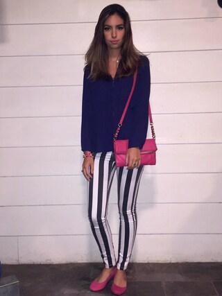 「Kendra Scott Elisa Pendant Necklace(Kendra Scott)」 using this Jessika Rodriguez looks