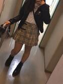 「BURBERRY CHILDREN Skirts(Burberry)」 using this mirei looks