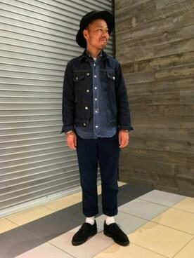 BEAUTY&YOUTH UNITED ARROWS|Yuta Okazakiさんの(YAECA|ヤエカ)を使ったコーディネート