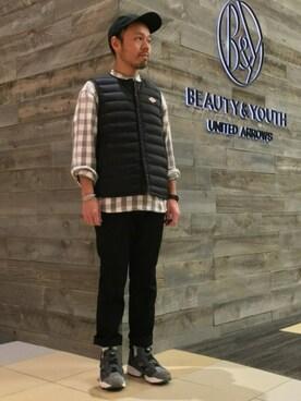ビューティ&ユース ユナイテッドアローズ 西宮店|Yuta Okazakiさんの(Reebok|リーボック)を使ったコーディネート