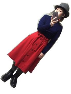 マユコユマさんの(TOMBO)を使ったコーディネート