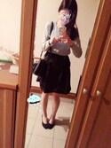 mh♡さんの「【PLAIN CLOTHING】ZIPポケットスクエアショルダーバッグ(PLAIN CLOTHING プレーンクロージング)」を使ったコーディネート