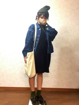 「DR. MARTENS Moccasins(Dr. Martens)」 using this ほのたぬ(はのけ) looks