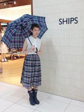 SHIPS 札幌ステラプレイスWOMEN'S店|松本さんの(SHIPS for women|シップスフォーウィメン)を使ったコーディネート