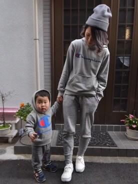 Yuri mom.♡さんの(babyGAP|babyGAP)を使ったコーディネート