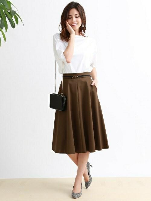 秋も履きたいミモレ丈スカート♡今すぐマネできるトレンド先取りコーデ12選