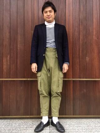 UNITED ARROWS|Shinsaku Masudaさんの(MYAR)を使ったコーディネート
