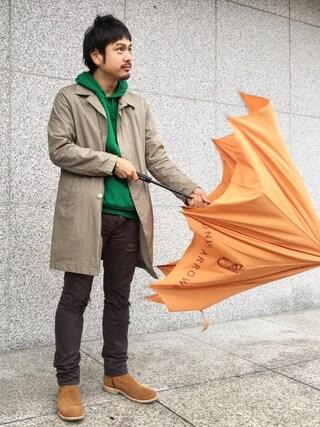 UNITED ARROWS|Shinsaku Masudaさんの(Traditional Weatherwear|トラディショナルウェザーウェア)を使ったコーディネート