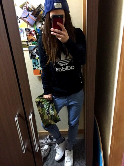 Akiさんの(adidas)を使ったコーディネート
