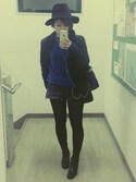 「FOREVER 21 Open-Front Boyfriend Blazer(Forever 21)」 using this Hatthi looks