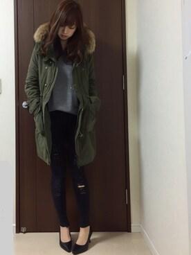nana♡さんの(FOREVER 21|フォーエバー トゥエンティーワン)を使ったコーディネート