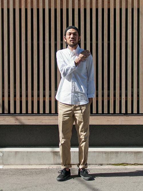 アーバンリサーチ DOORS 茶屋町店 | hanadaさんのパンツ「URBAN RESEARCH DOORS MENS DOORS CHINO Standard」を使ったコーディネート