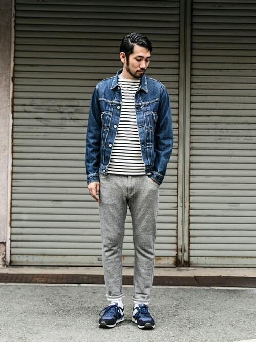 画像 : 「デニムジャケット」 Gジャン コーデ メンズの着こなし ...