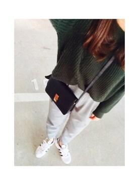 ひーさんさんの(adidas|アディダス)を使ったコーディネート