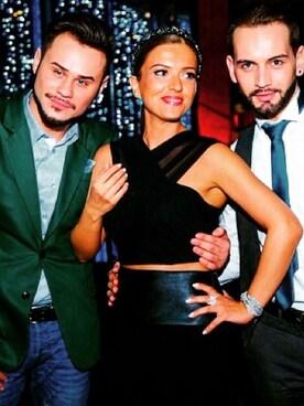 (DOLCE&GABBANA) using this Nino Tezelashvili looks