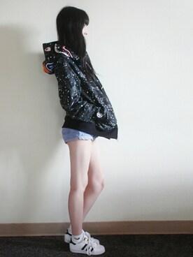 (adidas) using this メイ looks