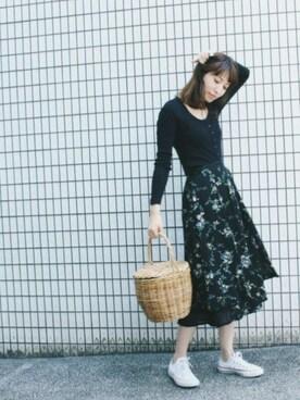 THE STORE|ヤマサキ サオリさんの(American Apparel|アメリカンアパレル)を使ったコーディネート