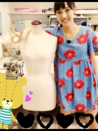 飯窪春菜さんの「Daisy Trail Uniform Dress(JOYRICH|ジョイリッチ)」を使ったコーディネート