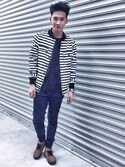 「Cheap Monday Jeans Tight Skinny Fit Blue Blitz Acid(Cheap Monday)」 using this Lex 方賈為 looks