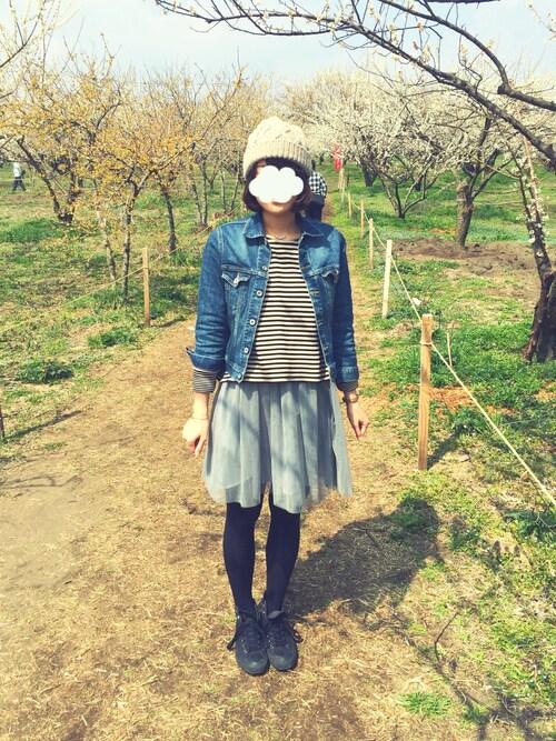shiho*さんの「パールネックレス(Handmade)」を使ったコーディネート