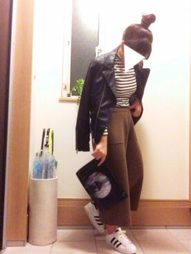「FOREVER 21 Faux Leather Moto Jacket(Forever 21)」 using this つかちょん looks