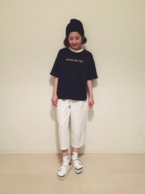 yuiさんの「NIKE 3P / COTTON  CUSHION QUARTER SOCKS(NIKE)」を使ったコーディネート