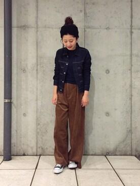 yuiさんの(STUDIOUS|ステュディオス)を使ったコーディネート