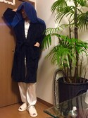 「Polo Ralph Lauren Velour Kimono Robe(Polo Ralph Lauren)」 using this Joseph  looks