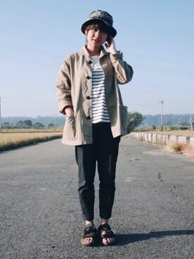 65さんの(BLUE BLUE JAPAN|ブルーブルージャパン)を使ったコーディネート