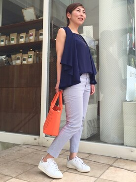 Bijouterie euro flat acoさんの(DOUBLE STANDARD CLOTHING ダブル スタンダード クロージング)を使ったコーディネート