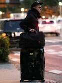 araiさんの「MILESTO UTILITY ポケッタブルボストンバッグ 35L(MILESTO ミレスト)」を使ったコーディネート