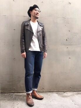 RENJISHI AOYAMA|山崎永二さんのコーディネート