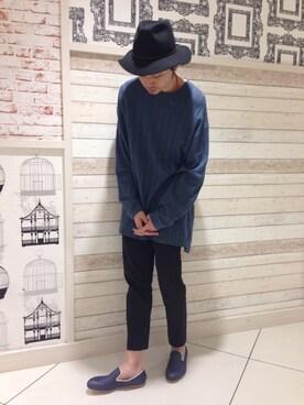 Unline新宿店|GASENさんの「★SEESAW 別注スリッポン(alfredoBANNISTER MEN'S)」を使ったコーディネート