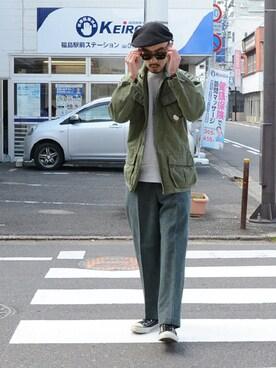 FUNS_FUKUSHIMAさんの(VINTAGE ヴィンテージ)を使ったコーディネート