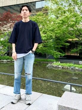 JUNRed グランフロント大阪 tmkさんの(Wrangler ラングラー)を使ったコーディネート