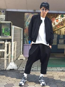 武田航平さんの(Reebok|リーボック)を使ったコーディネート