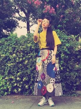 IZUMIさんのスカート「ALBEROBELLO 」を使ったコーディネート