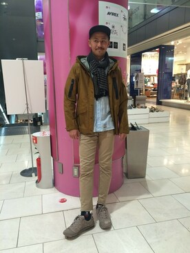 AVIREX 渋谷|Junichiさんの(AVIREX|アヴィレックス)を使ったコーディネート