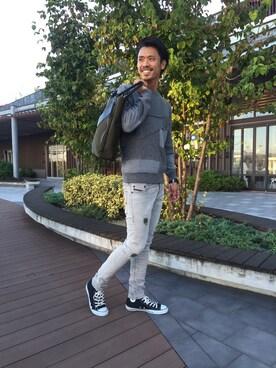 DIESEL Terrace Mall 湘南|shinoさんの(DIESEL|ディーゼル)を使ったコーディネート