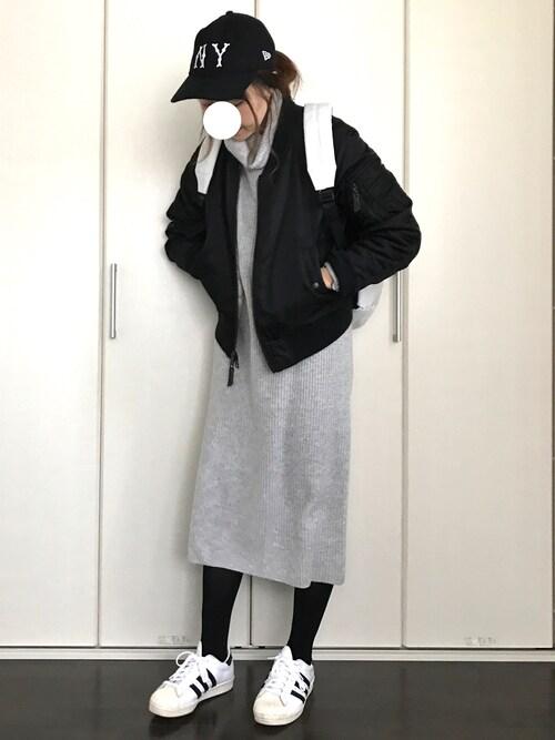 IKUmamaさんの「【New Era/ニューエラ】9TWENTY Classicメルトンキャップ/551632(RAGEBLUE)」を使ったコーディネート