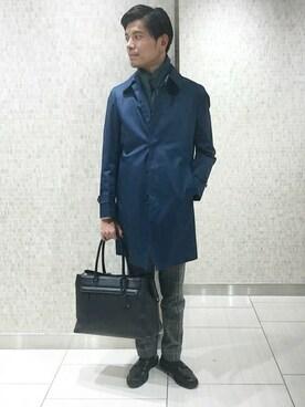SHIPS 渋谷店|原野さんの「SD: ドレス レザートート□(SHIPS)」を使ったコーディネート