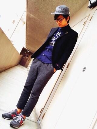 Ryusei Satoさんの「DENIM WOOL JKT(Name.|ネーム)」を使ったコーディネート