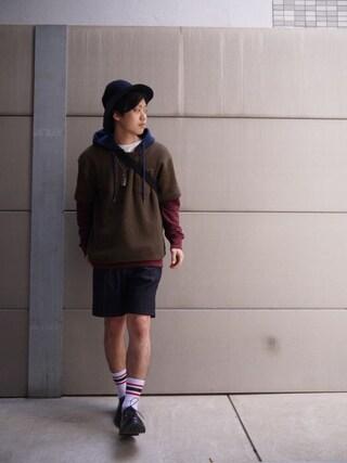 Ryusei Satoさんの(HUMIS)を使ったコーディネート