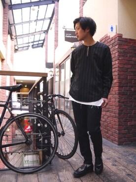 Ryusei Satoさんの(kiit|ヒューミス)を使ったコーディネート