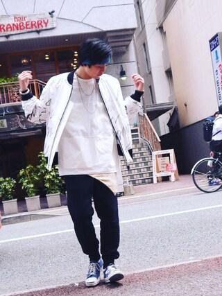 Ryusei Satoさんの(HUMIS|ヒューミス)を使ったコーディネート