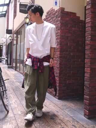 Ryusei Satoさんの(Name.|ネーム)を使ったコーディネート