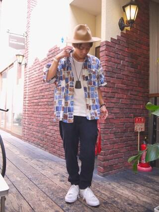 Ryusei Satoさんの(THE COMESANDGOES|ザ カムズアンドゴーズ)を使ったコーディネート